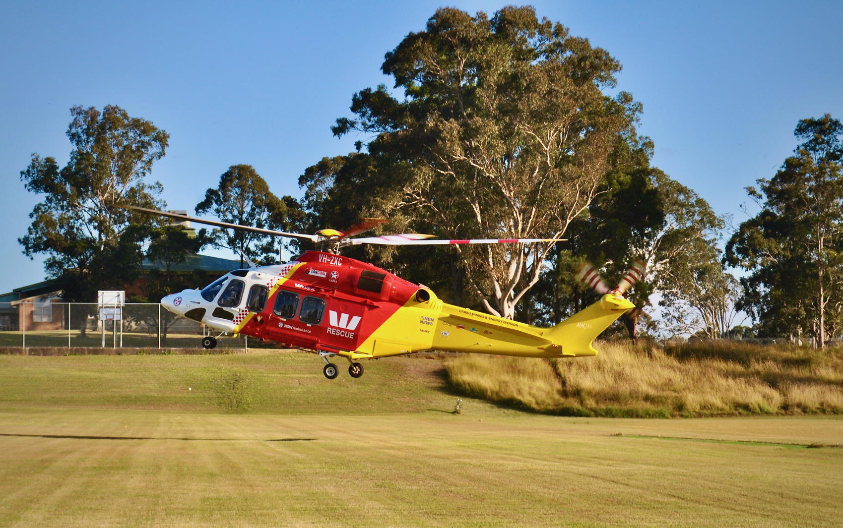 011 Westpac Emergency Helicopter & Gloucester High School -  Christian Collins (6yrs)
